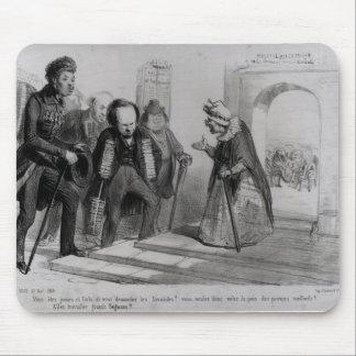 Dumas, Hugo y Balzac buscando su admisión Alfombrilla De Raton