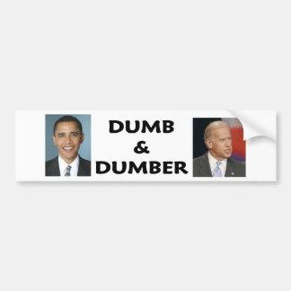 dumb2 pegatina para auto