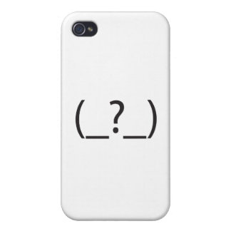 Dumb A.ai iPhone 4/4S Covers