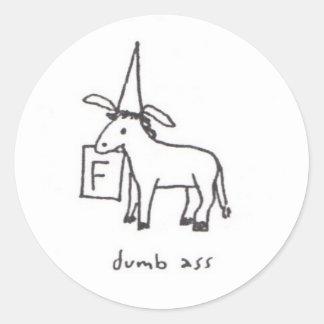Dumb Ass sticker