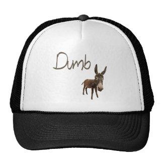 dumb ass trucker hat