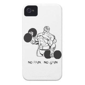 DUMB BELL NO PAIN 4/4S CASE iPhone 4 CASE