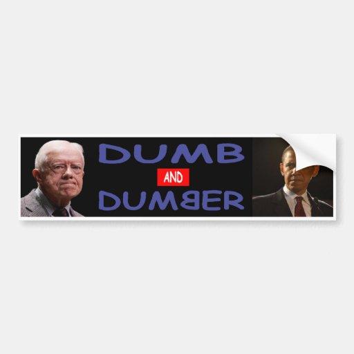 Dumb Democrats Bumper Sticker