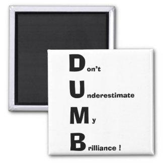 DUMB FRIDGE MAGNET
