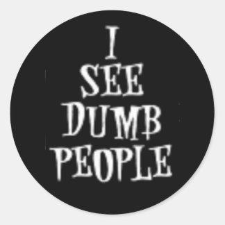 Dumb Not Blind- Designer Sticker