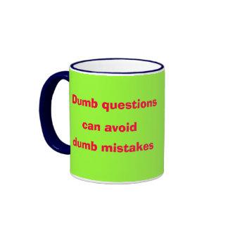 Dumb* pregunta la taza muda de los errores