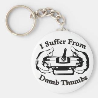 Dumb Thumbs Keychain