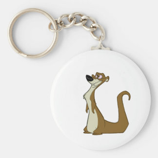 Dumb Weasel Keychain