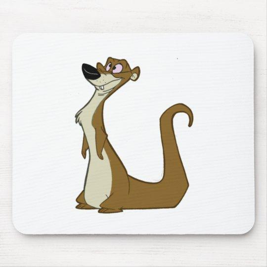 Dumb Weasel Mouse Pad