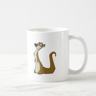 Dumb Weasel Classic White Coffee Mug