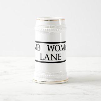 Dumb Woman's Lane, Street Sign, East Sussex, UK Mugs