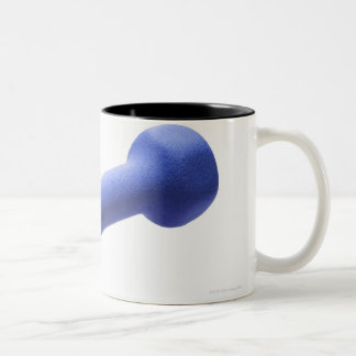 Dumbbell 2 Two-Tone coffee mug