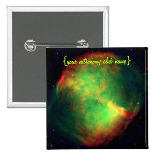 Dumbbell Nebula Constellation Vulpecula The Fox Pin