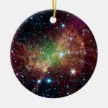 Dumbbell Nebula Infrared Space Christmas Tree Ornament