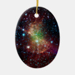 Dumbbell Nebula Infrared Space Ornaments