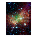 Dumbbell Nebula Infrared Space Post Cards