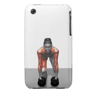 Dumbbell Single Leg Deadlift 3 iPhone 3 Case-Mate Cases