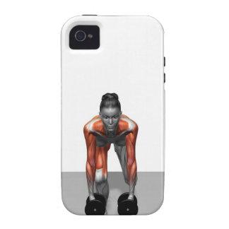Dumbbell Single Leg Deadlift 3 Vibe iPhone 4 Cover