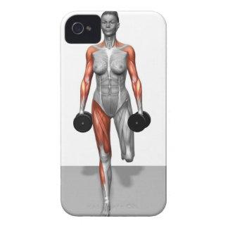 Dumbbell Single Leg Deadlift 4 iPhone 4 Cases