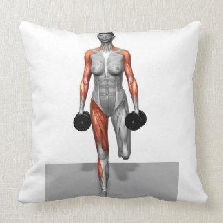Dumbbell Single Leg Deadlift 4 Pillows