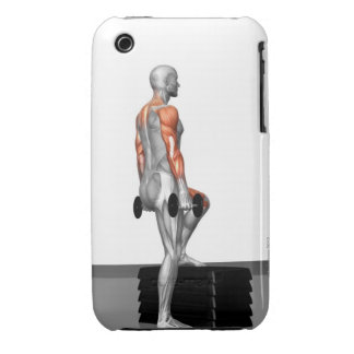 Dumbbell Step Up 2 Case-Mate iPhone 3 Case