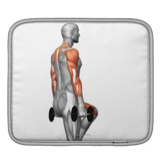 Dumbbell Step Up 2 iPad Sleeve