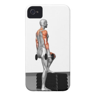 Dumbbell Step Up 2 iPhone 4 Case-Mate Case