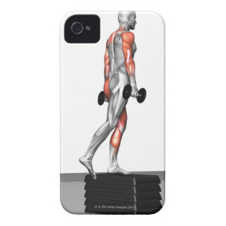 Dumbbell Step Up 3 iPhone 4 Case