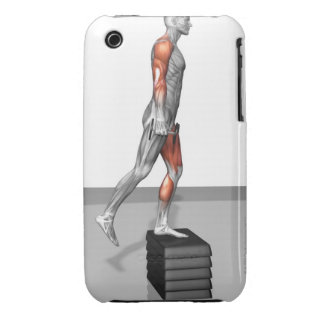 Dumbbell Step Up 4 iPhone 3 Case
