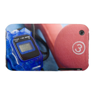 Dumbbells and stopwatch iPhone 3 case