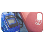 Dumbbells and stopwatch iPhone 5 case