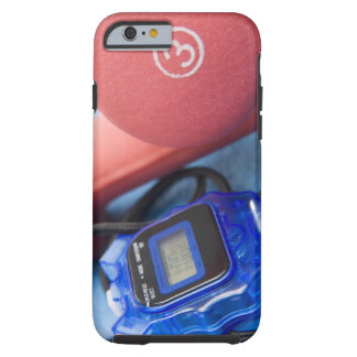 Dumbbells and stopwatch tough iPhone 6 case