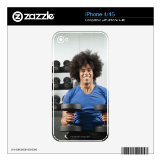 Dumbbells Skin For The iPhone 4