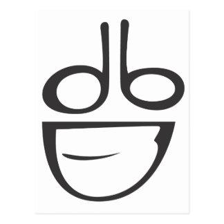 dumbDesign Logo Postcard