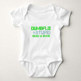 Dumbflix And Stupid Read A Book T Shirt
