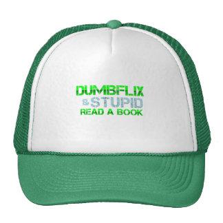 Dumbflix y estúpido leyeron un libro gorros bordados