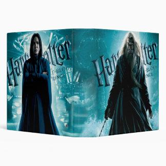 Dumbledore and Snape Vinyl Binder