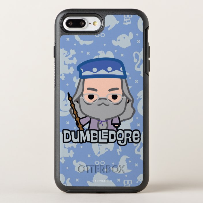 Dumbledore Cartoon Character Art Otterbox Iphone Case Zazzle Com