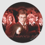 DUMBLEDORE'S ARMY™ ROUND STICKERS