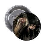Dumbledore Script Logo 2 Inch Round Button
