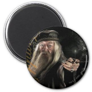 Dumbledore Script Logo 2 Inch Round Magnet