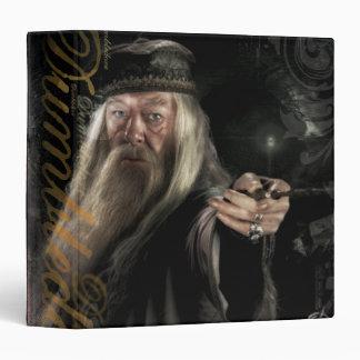 Dumbledore Script Logo 3 Ring Binders