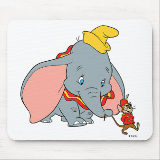 Dumbo and JoJo Mouse Pad