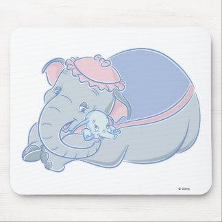 Dumbo and Jumbo Mouse Pad