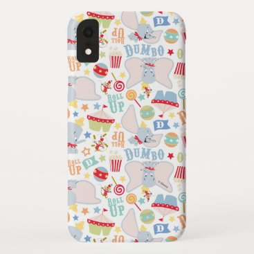 Dumbo and Timothy Roll Up Pattern iPhone XR Case