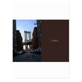 DUMBO at Dusk Post Cards