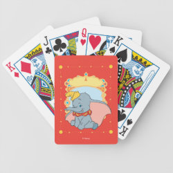 Playing Cards with Cute Cartoon Disgust from Inside Out design