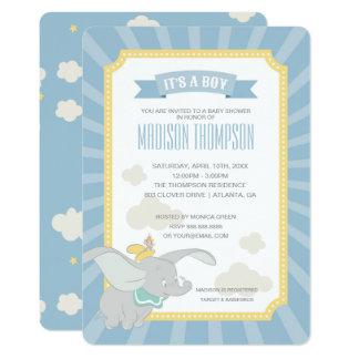 Dumbo | Boy Baby Shower Card