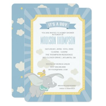 disney Dumbo | Boy Baby Shower Card