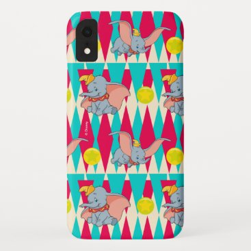 Dumbo Bright Circus Pattern iPhone XR Case